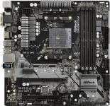 Asrock B450M PRO4 Soc-AM4 AMD B450 4xDDR4 mATX AC`97 8ch(7.1) GbLAN RAID+VGA+DVI+HDMI