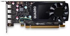 Dell PCI-E Quadro P620 NVIDIA Quadro P620 2048Mb 128 GDDR5/mDPx4 oem low profile