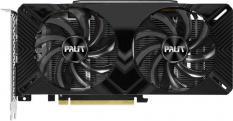 Palit PCI-E PA-RTX2060 DUAL 6G BULK NVIDIA GeForce RTX 2060 6144Mb 192 GDDR6 1365/14000 DVIx1/HDMIx1/DPx1/HDCP Bulk