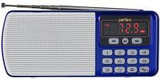 Perfeo Егерь синий FM/MP3/питание USB или акб BL-5C