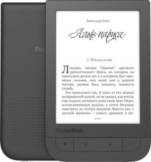 Электронная книга PocketBook 631 Touch HD black