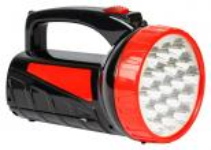 -прожектор Smartbuy аккумуляторный SBF-303-K 2 в 1 / 1W+18SMD