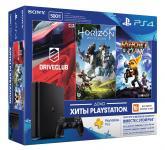 SONY PlayStation 4 Slim 500 GBE + HZD/DC/RC+3MHC (CUH-2108A)